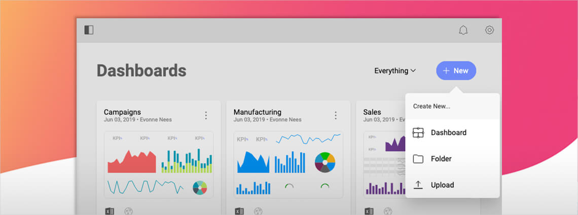 How to Create Your First Business Intelligence Dashboard with Reveal